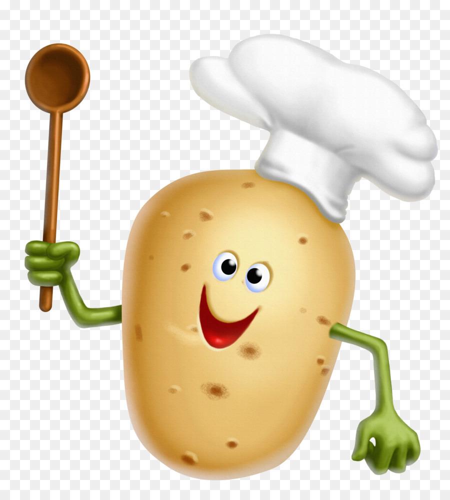 Potato Cartoon clipart.