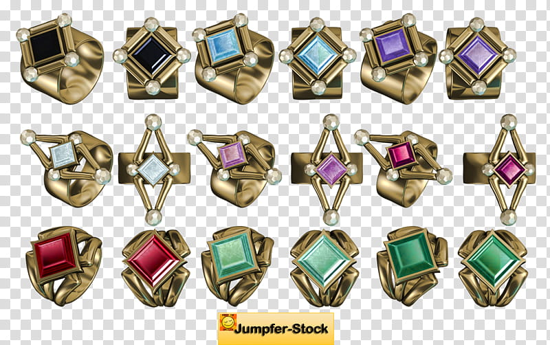 Jewellery , ring collection transparent background PNG.
