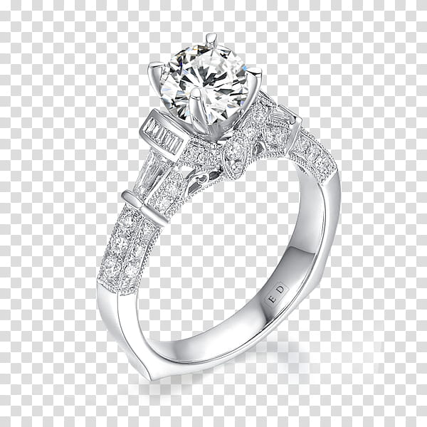 Wedding Ring Silver, Sylvie Collection, Engagement Ring.