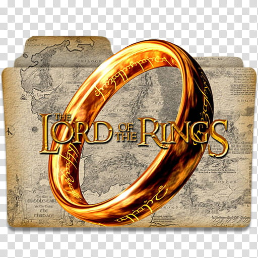 Lord of The Rings Collection Folder Icon , ICON, The Lord of.