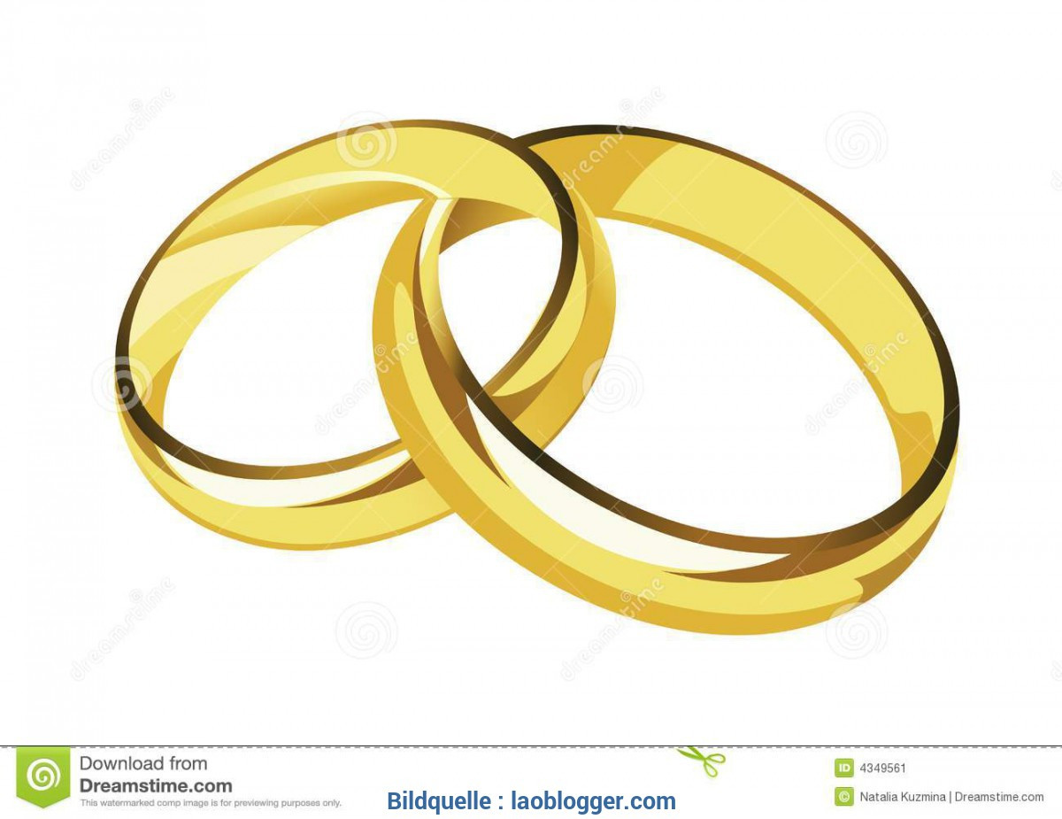 Ringe Hochzeit Symbol Clipart.
