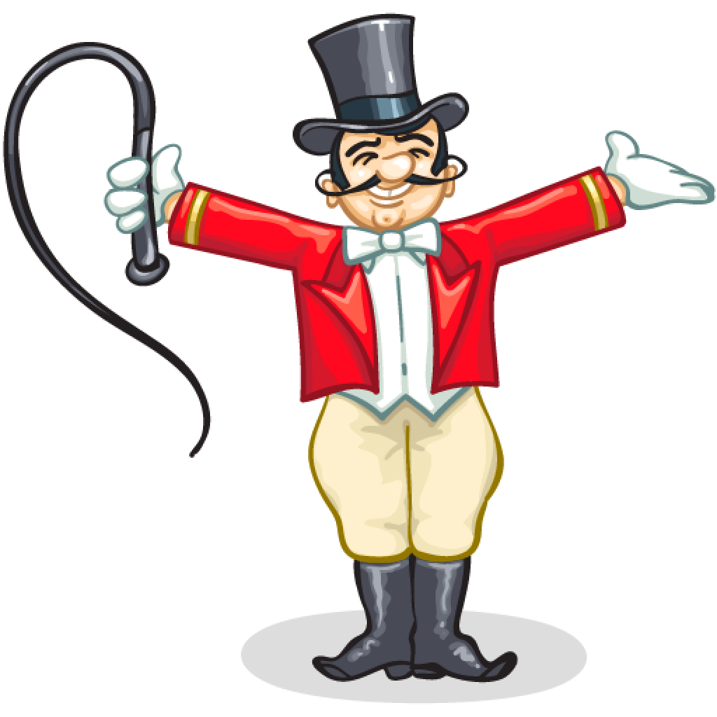 Circus Ringleader Clipart.