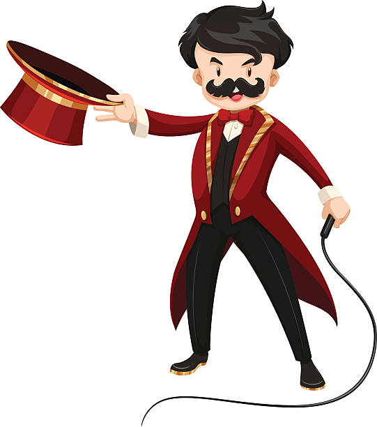 Ringmaster clipart 1 » Clipart Station.