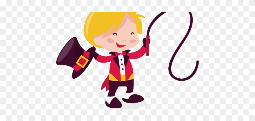 Circus Clipart Ringmaster.