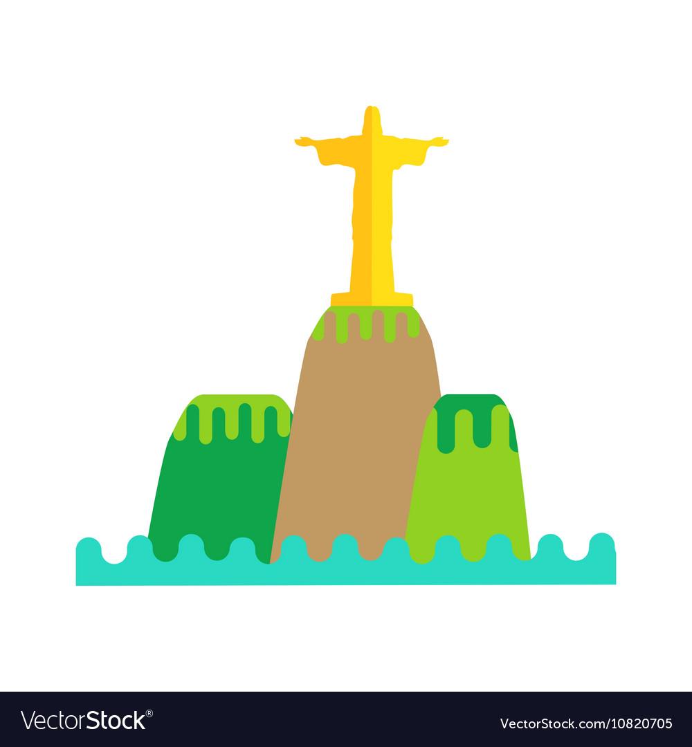 Rio De Janeiro Flat Background.