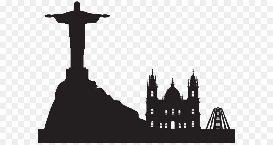 Rio De Janeiro Silhouette png download.