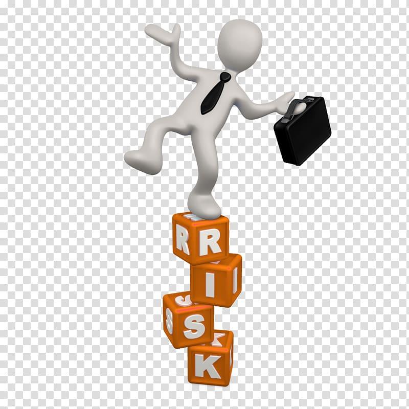 Risk management Businessperson Actuary, risk transparent.