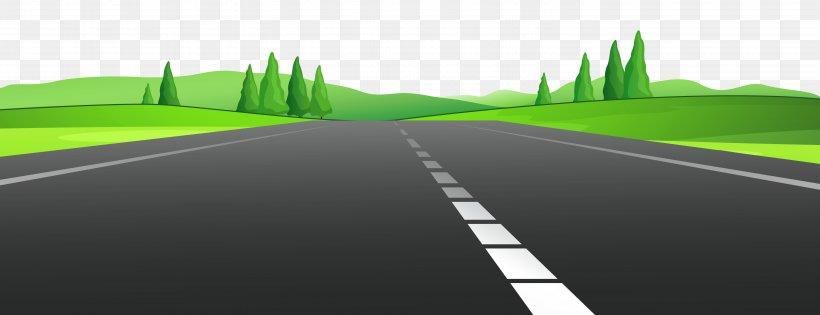 Road Curve Asphalt Concrete Clip Art, PNG, 5999x2307px, Road.