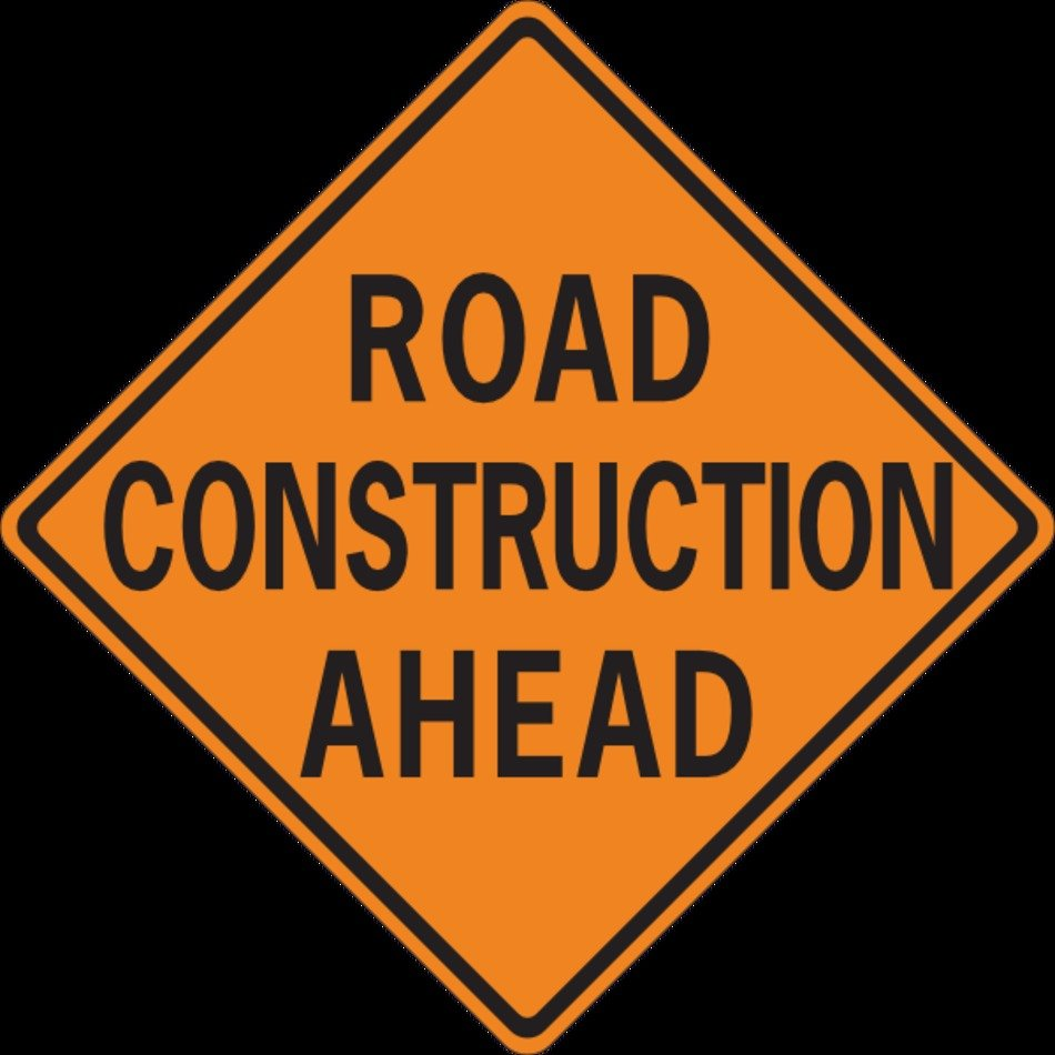 Road Construction Clip Art N7 free image.