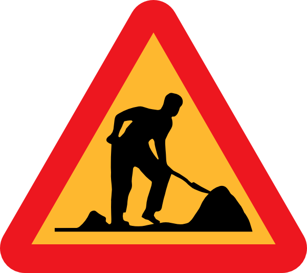 Road Work Under Construction Clip Art at Clker.com.