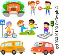 Road Safety Clip Art.