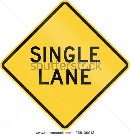 Single Lane Road Stock Images, Royalty.