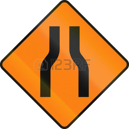One Lane Roadsign Stock Photos & Pictures. Royalty Free One Lane.