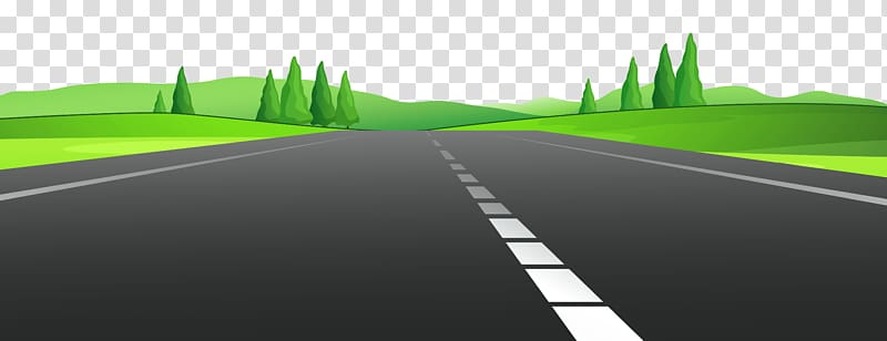 Roads in Urban Areas , Road transparent background PNG.