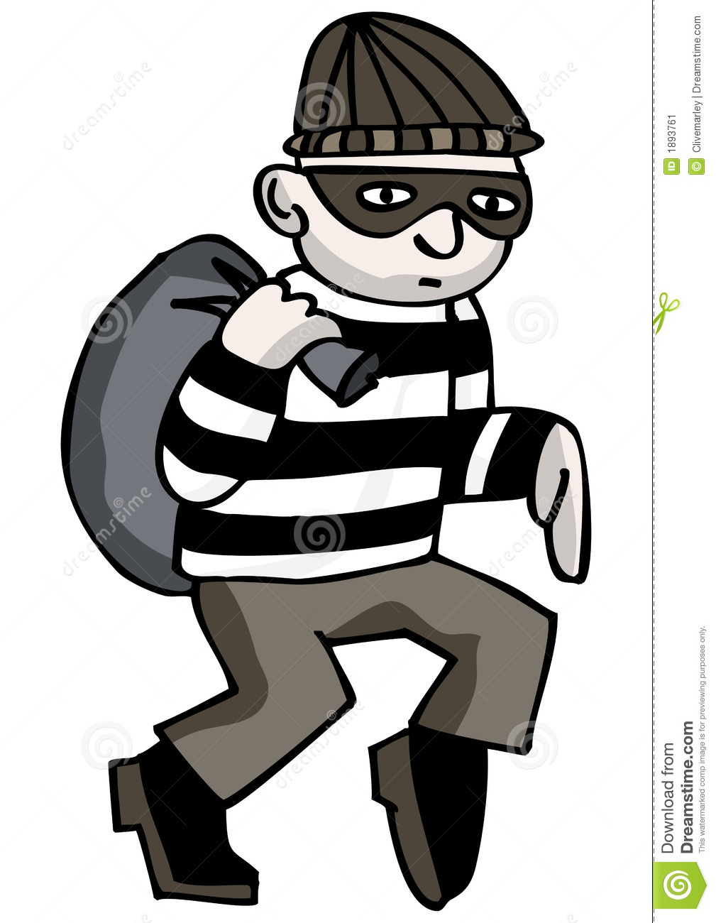 Robber clipart 7 » Clipart Station.