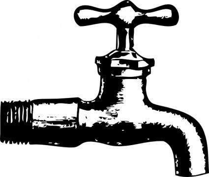 Faucet clip art Clipart Graphic.