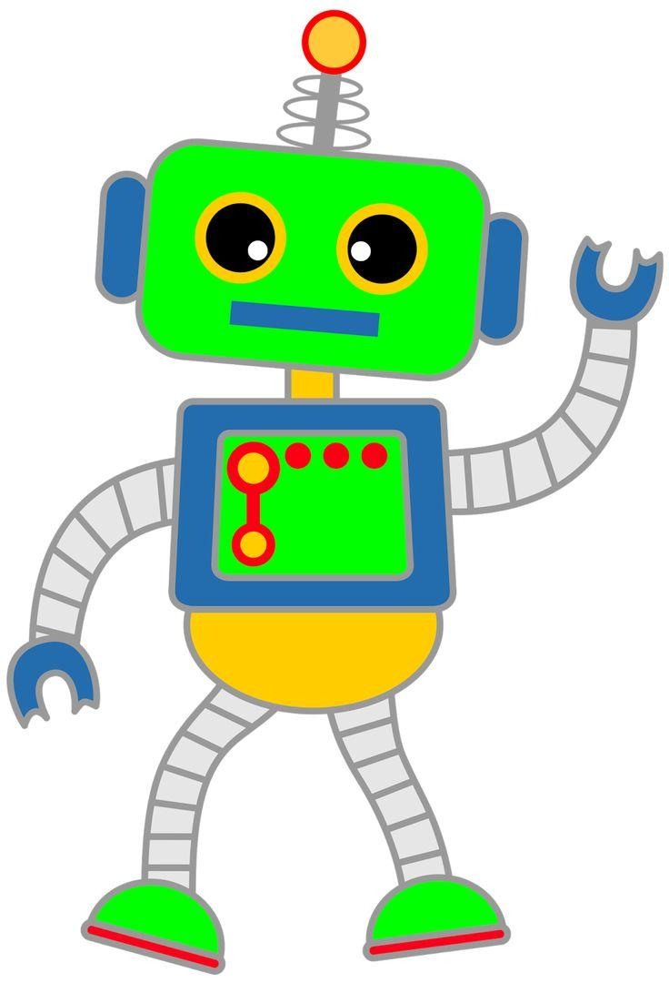 Clipart robot 5 » Clipart Station.