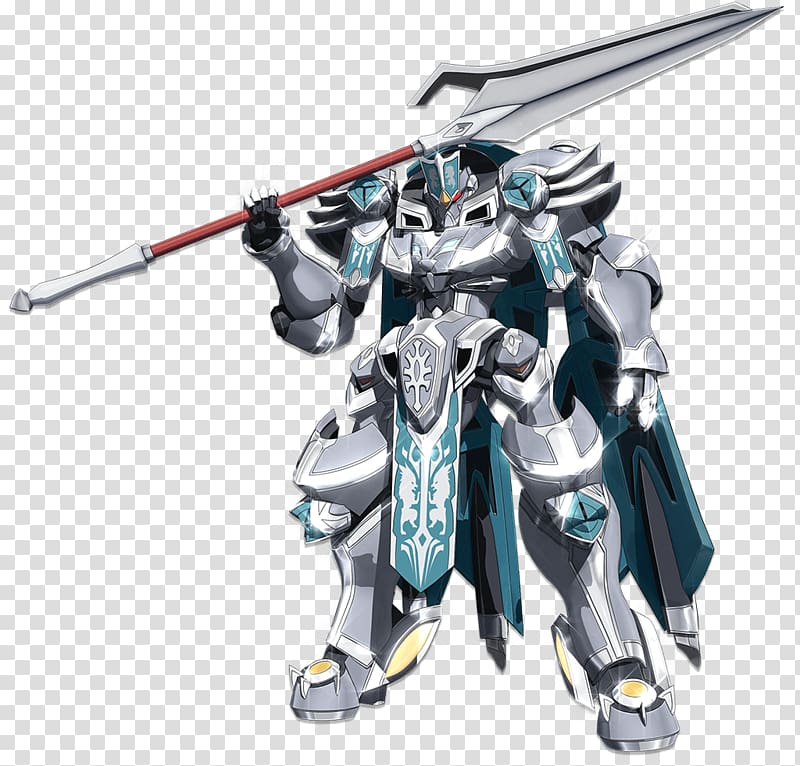 Knight\'s & Magic Mecha Robot Body armor, Knight transparent.
