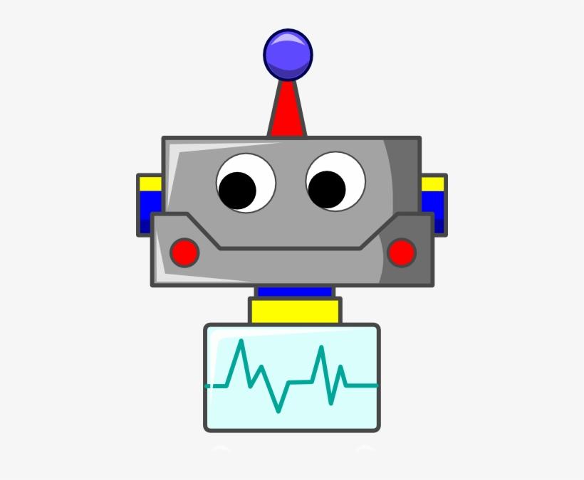 Robot Face Clipart.