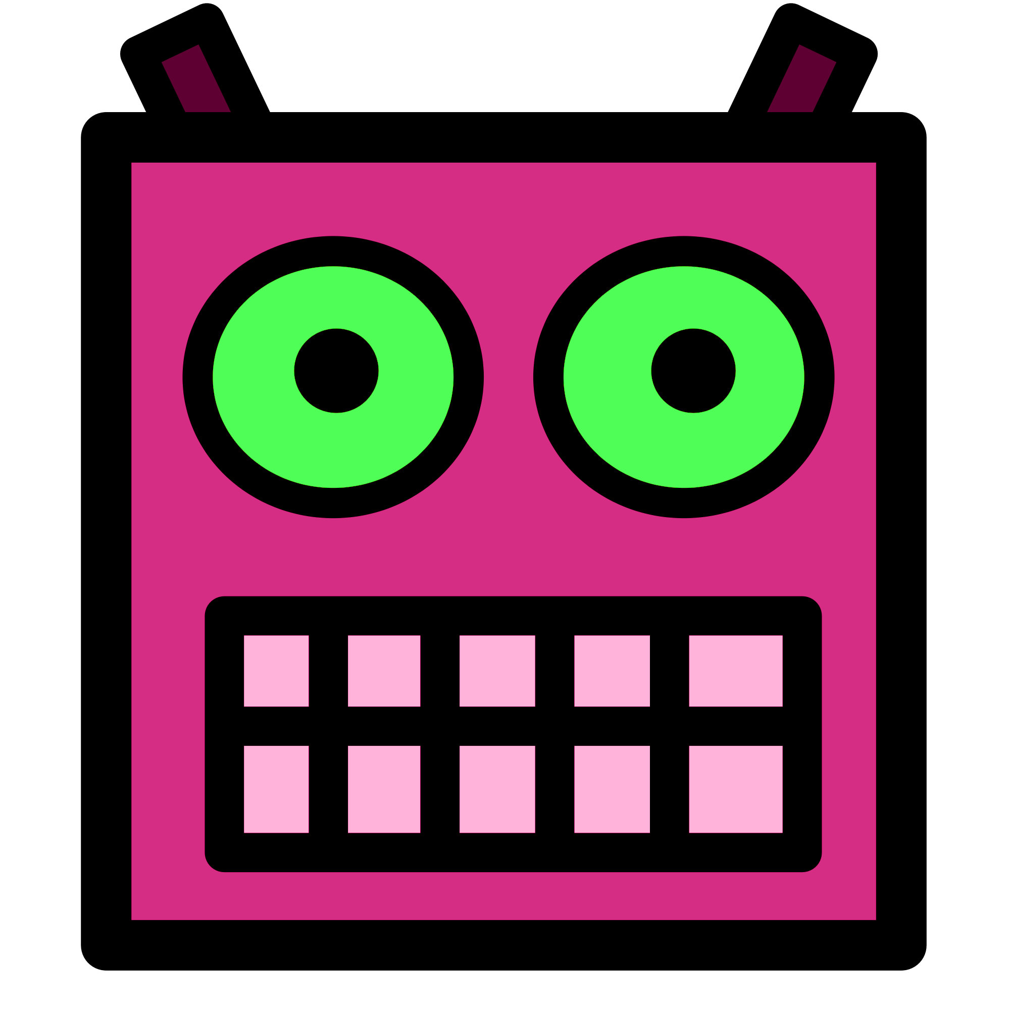 4202 Robot free clipart.