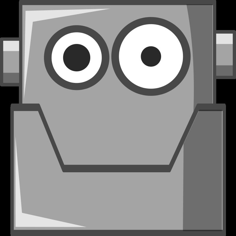 Clipart Robot Head.