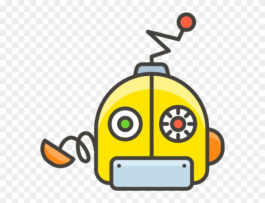 Robot Face Emoji.