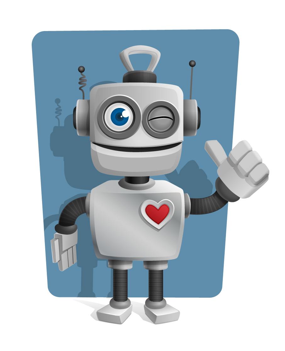 Robot free to use clip art.