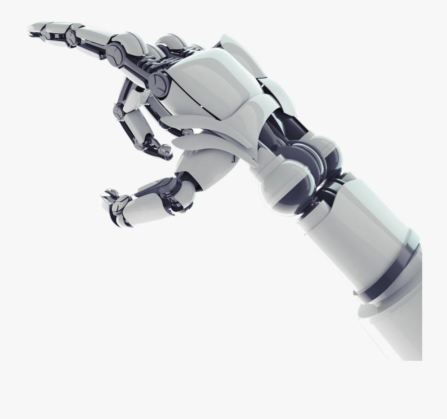 Robot Hand Transparent Background.