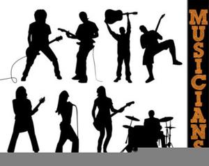 Cliparts Rock Band.