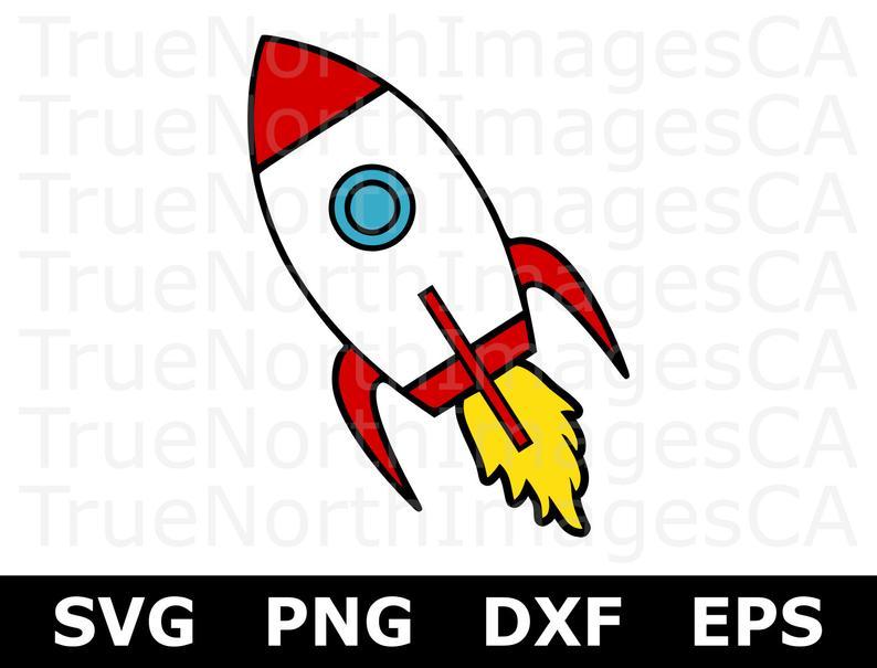 Rocket SVG / Rocket Clipart / Rocket Ship SVG / Rocket Ship Clipart / Space  Ship SVG / Rocket Cut File / Svg Files for Cricut / Silhouette.
