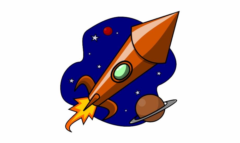 Free Rocketship Clip Art.