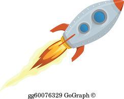 Rocket Ship Clip Art.