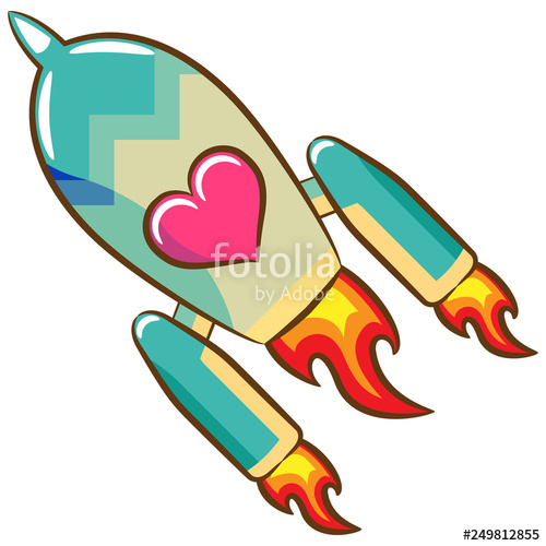 Rocket Ship Clipart Stock Image And Royalty Free Vector Files On.