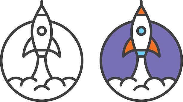 Best Rocket Launch Illustrations, Royalty.