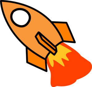 Space rockets clipart pics about space image #12839.