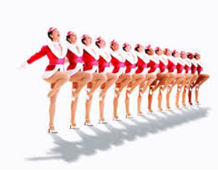 Rockettes Clip Art.