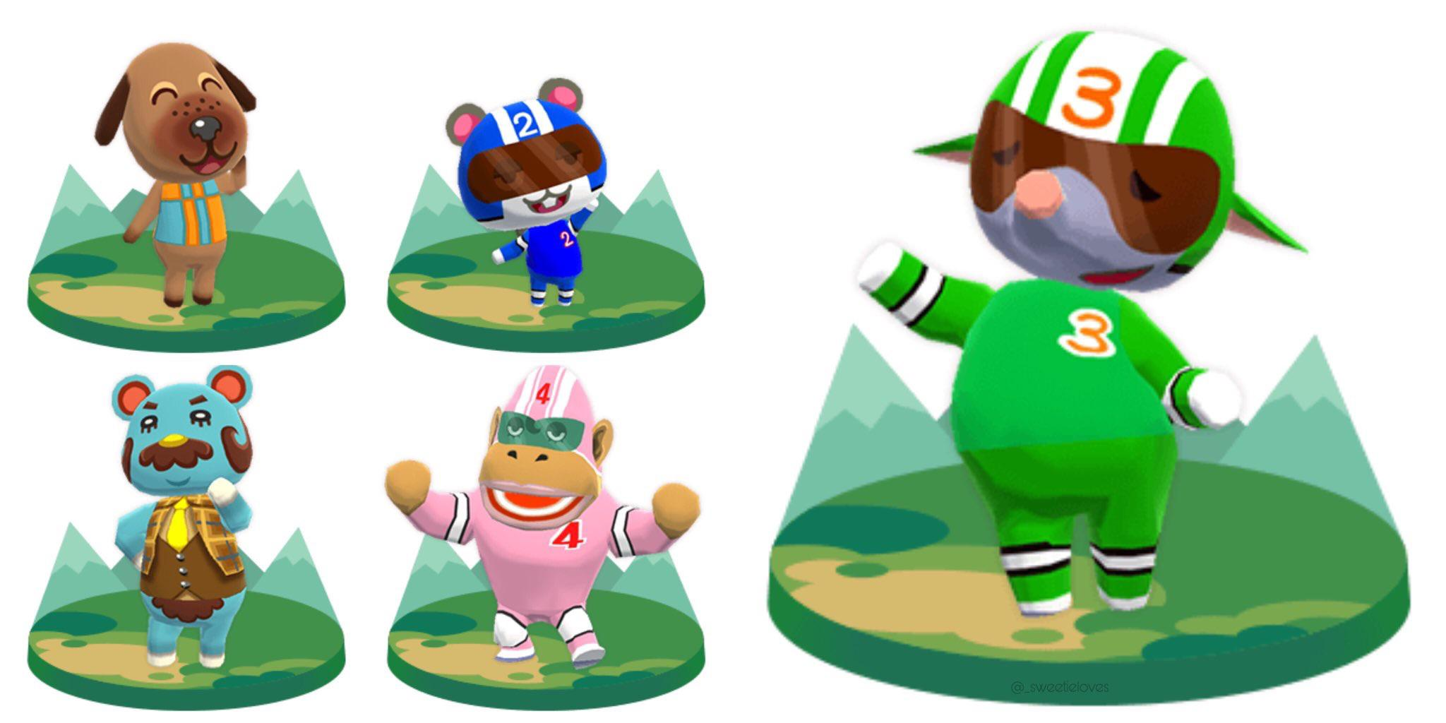 The new animals coming with the update! : ACPocketCamp.