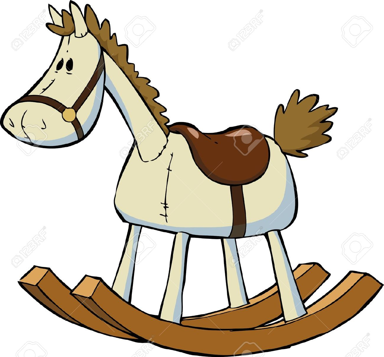 3,033 Rocking Horse Stock Illustrations, Cliparts And Royalty Free