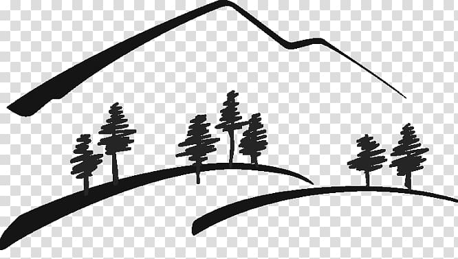 Drawing Line art Rocky Mountains , others transparent.