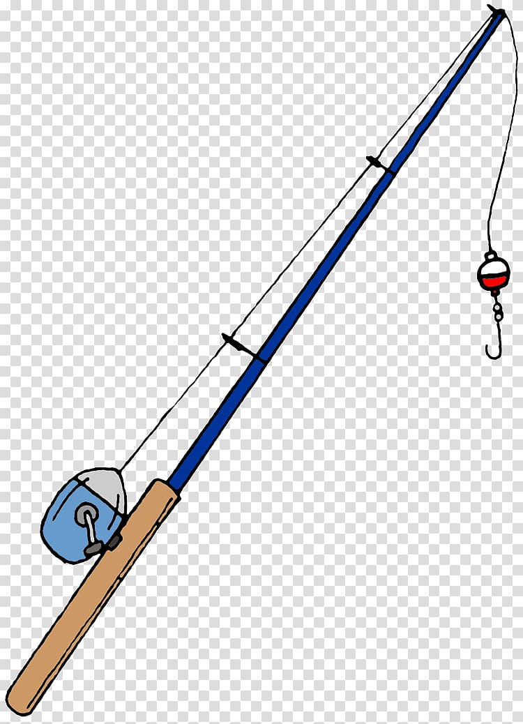 Fishing rod Cartoon , Fishing Rods transparent background.