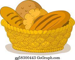 Bread Roll Clip Art.