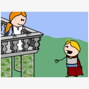 Balcony Clipart Romeo And Juliet.