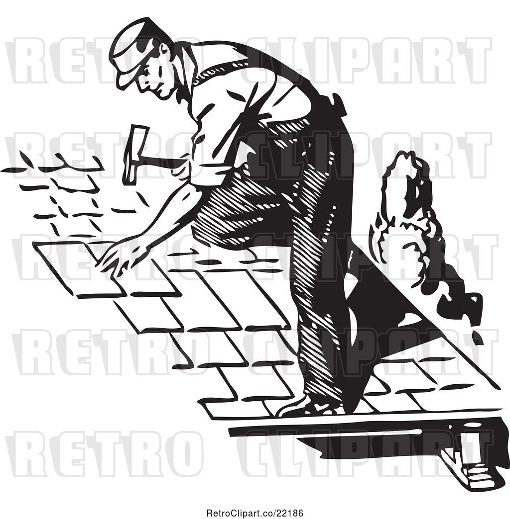 Roofer clipart 1 » Clipart Station.