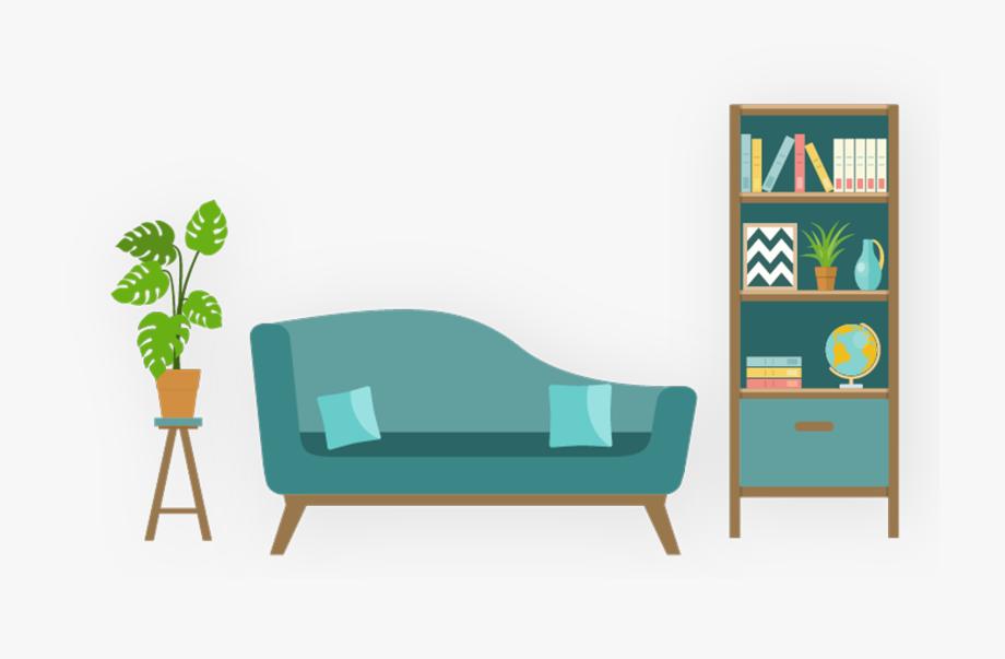 Living Room , Png Download.