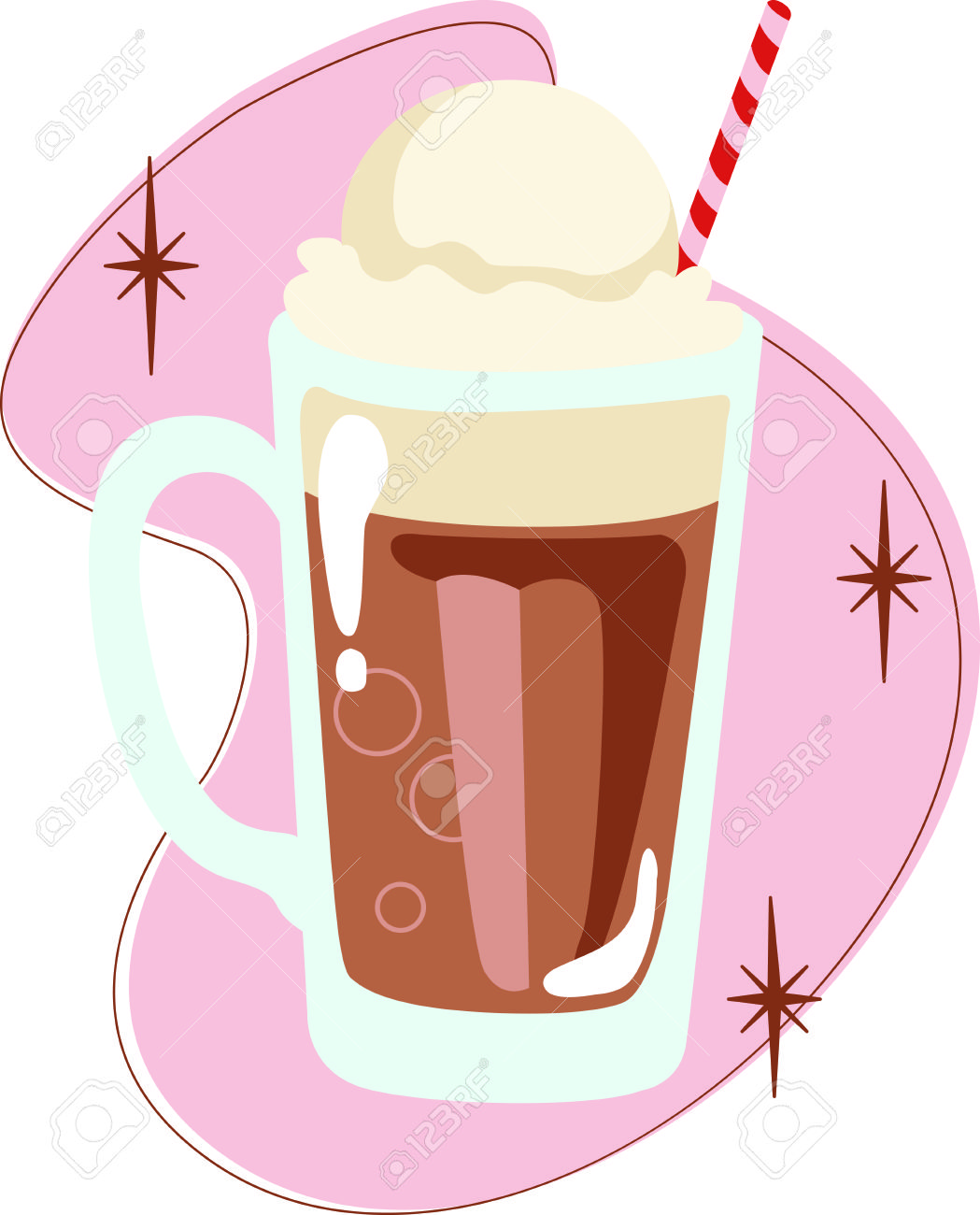 Rootbeer float clipart 6 » Clipart Station.