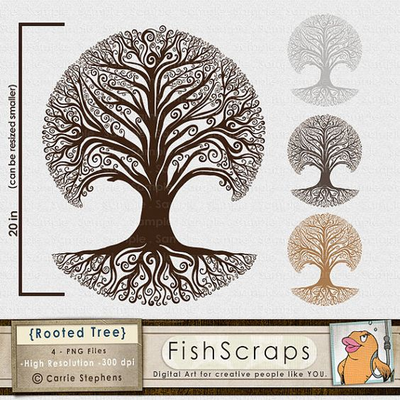 Trees, Design and Clip art on Pinterest.