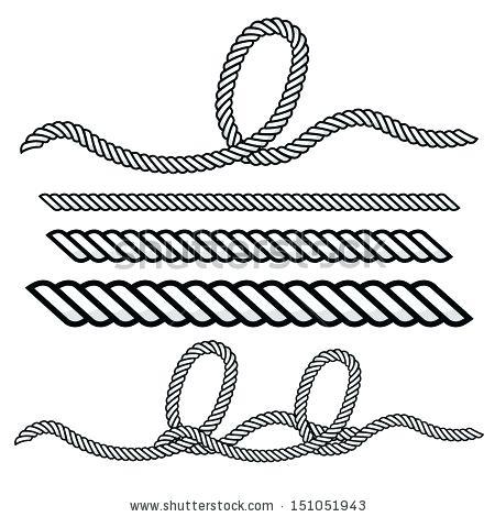 Rope Circle Clipart.