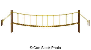 Rope bridge Illustrations and Clip Art. 573 Rope bridge royalty free.