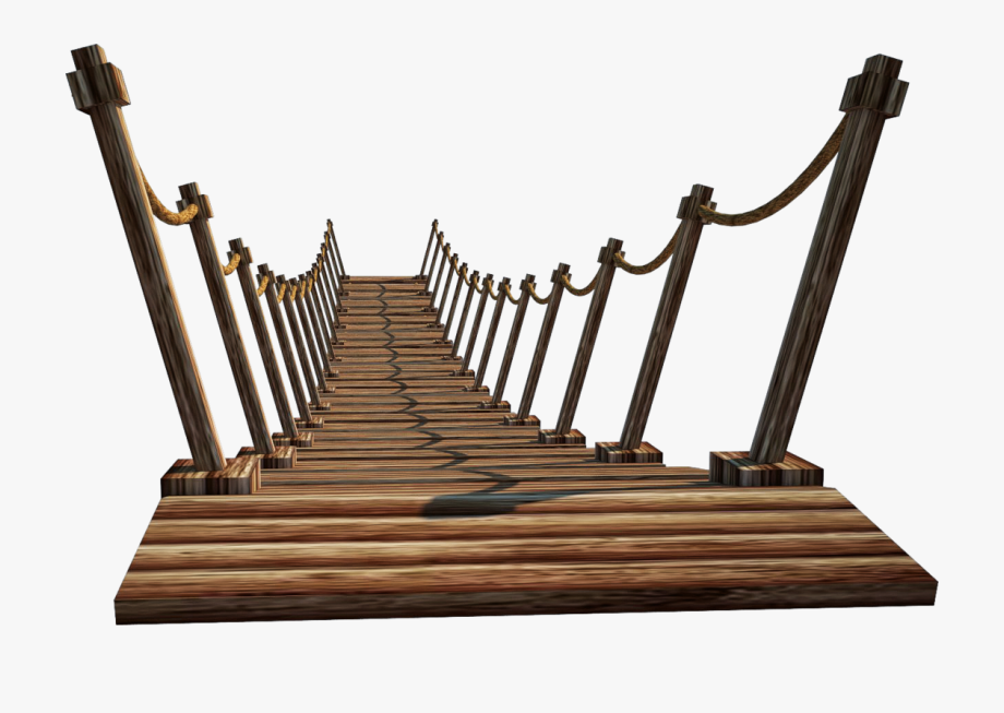 Rope Bridge Clipart Transparent.