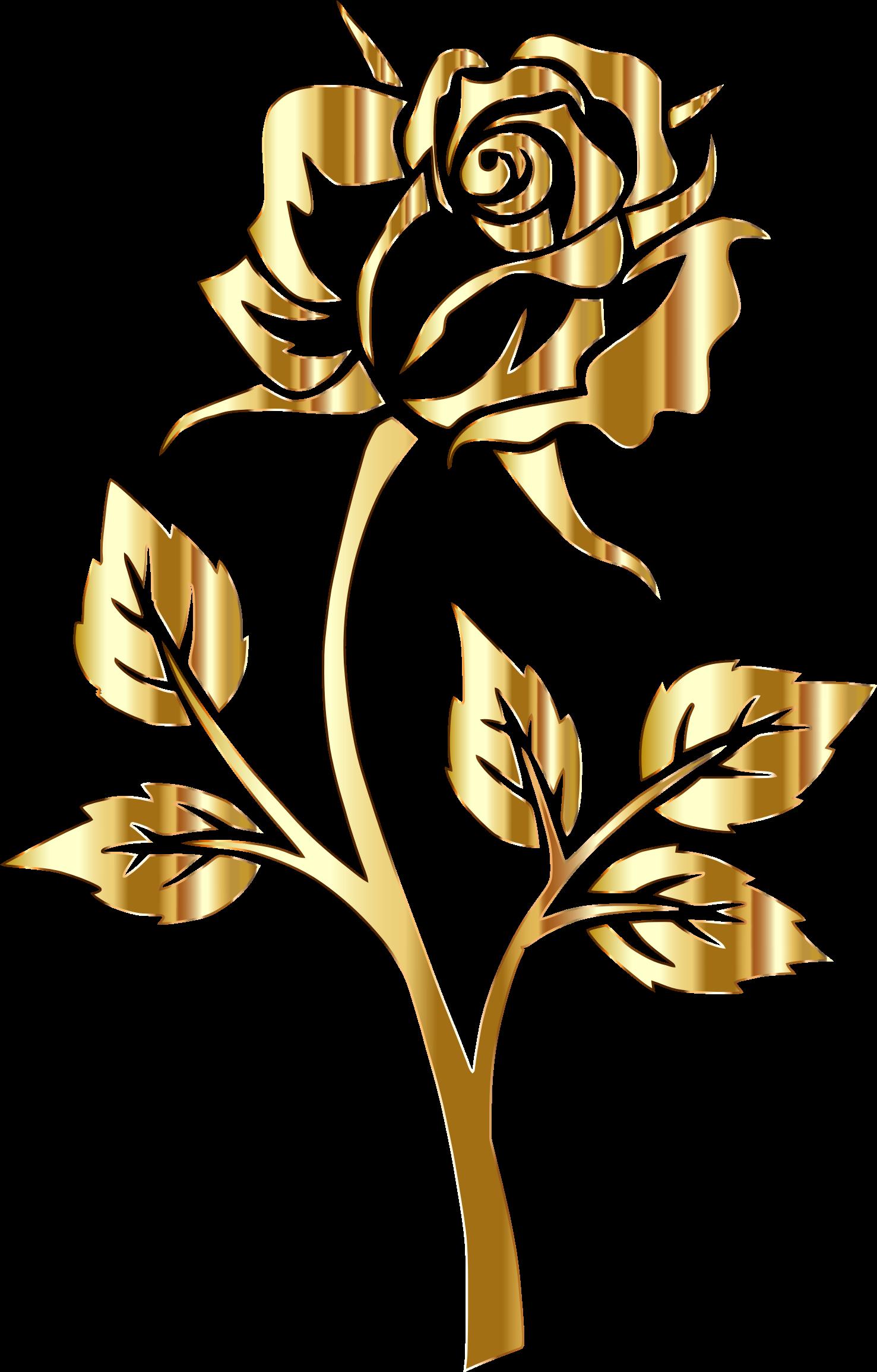 Rose clipart rose gold, Rose rose gold Transparent FREE for.